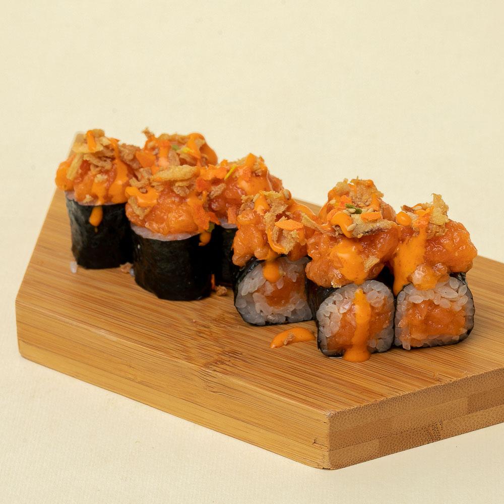Hosomaki Spicy Salmon-0155
